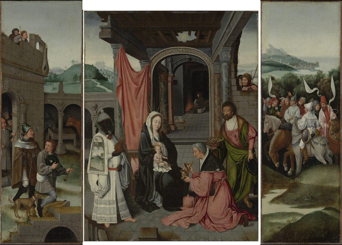 Adoration of the Magi, 's-Hertogenbosch; Visible light