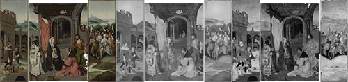 Adoration of the Magi, 's-Hertogenbosch; Parallel view